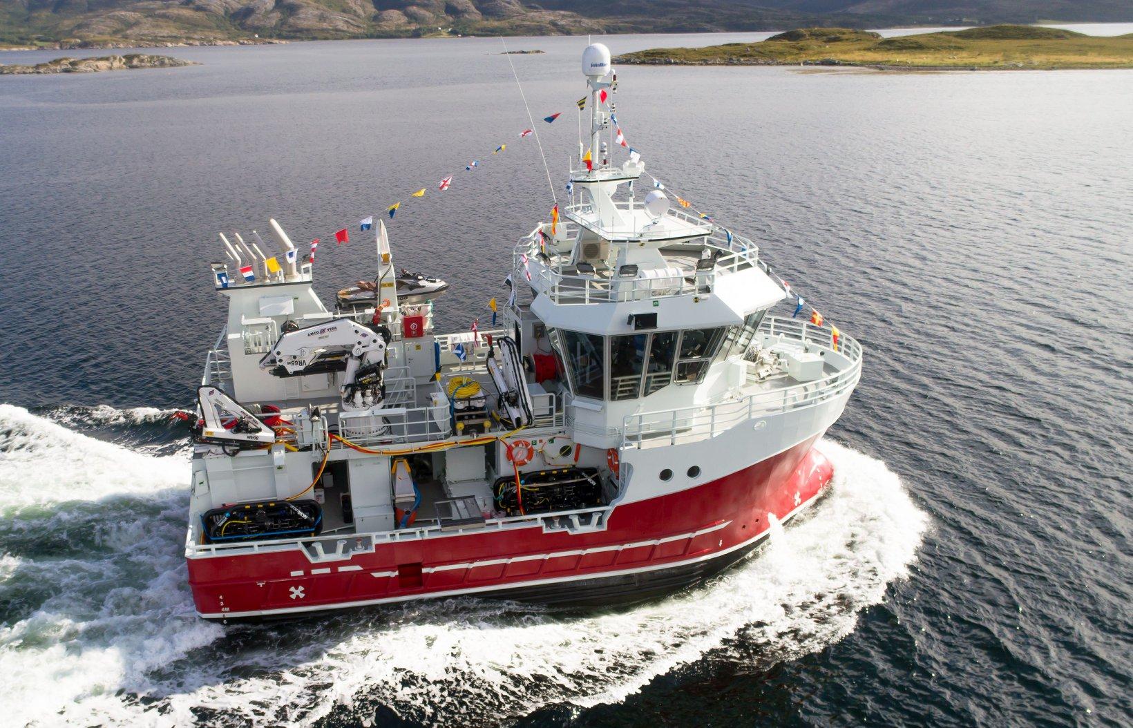 Fishing vessel built in 2018